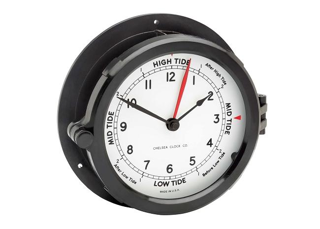 Chelsea Quot Patriot Quot Deck Time Amp Tide Clock White Face