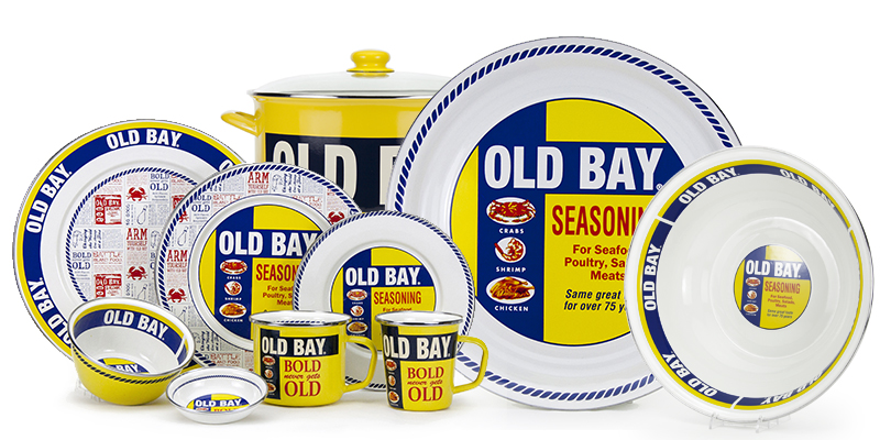 Old Bay Tableware Collection