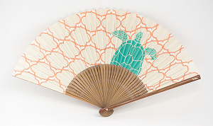 Hand Fan - Turtle Design