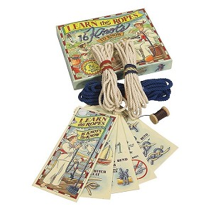 """Learn The Ropes"" Knot-Tying Kit"