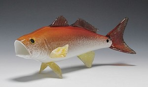 Saltwater Fish Glass Sculpture - Small
