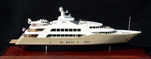Yacht Model - 196' Trinity Superyacht