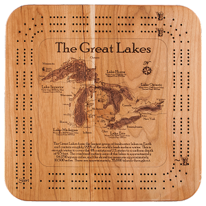 CHART ART - Cribbage Boards