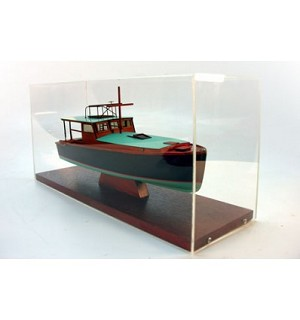 "Yacht Desk Model - ""Pilar,"" Hemingway's Fishing Boat"