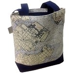 Chart Design Medium Tote Bag, NFN