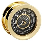 Chelsea Nautical Barometer w/Carbon Fiber Face