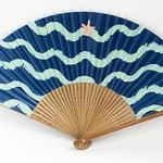 Hand Fan - Starfish Design